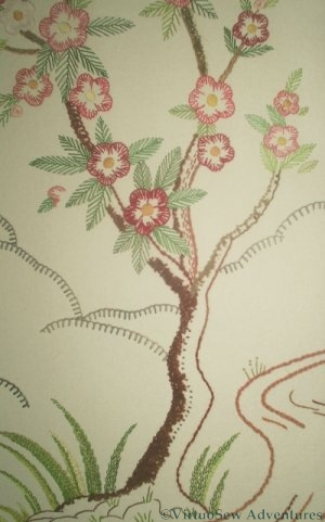 The Flowering Tree on Panel Three