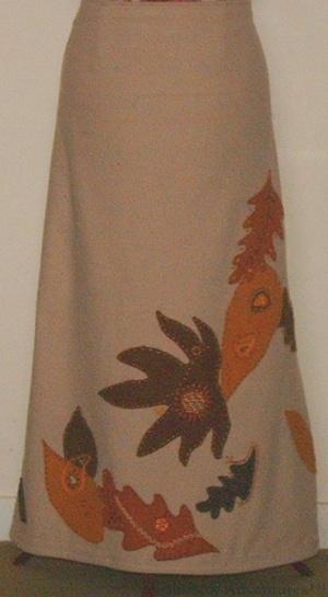 Autumn Leaves Skirt