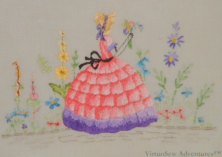 """The Back of """"The Lady In the Garden"""""""