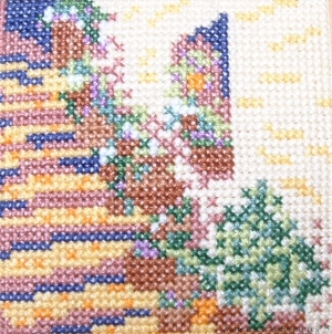 Steps in the Sun - Stranded Cotton counted cross stitch