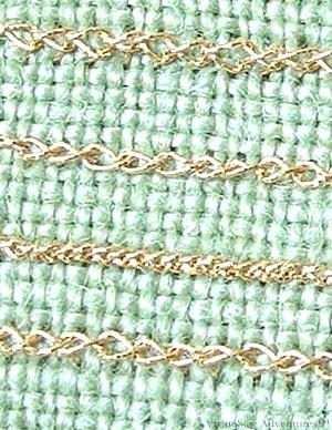 Reverse Twisted Chain Stitch