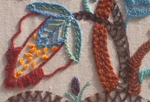 Jacobean Panel Close Up 2