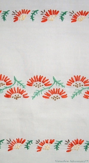 Table Runner from The Needlewoman Magazine