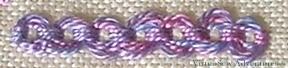 Guilloche Stitch Variation