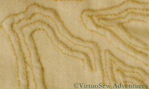 Contour Lines on the Map of Amarna