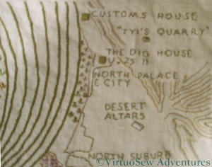 Section of the Amarna Map