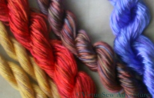 Oliver Twist Threads for Amarna Projects
