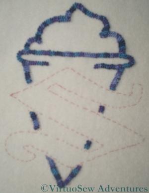 Cone In Braid Stitch