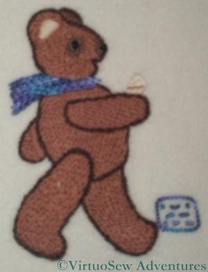 Morse Code Teddy