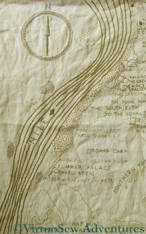 Progress On The Map of Amarna