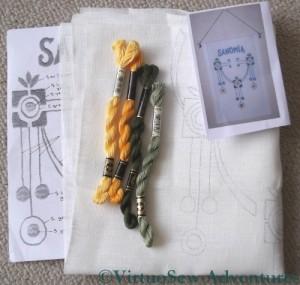 Finnish Embroidery Design