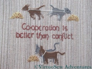 Cooperation is better than conflict