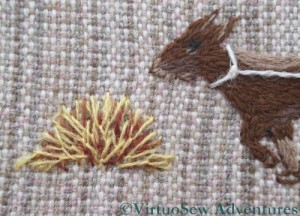 Fly Stitches For Hay