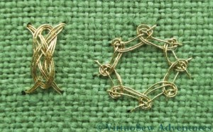 Eight Sided Interlacing And Josephina Knot
