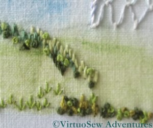 Hillside Stitch Details