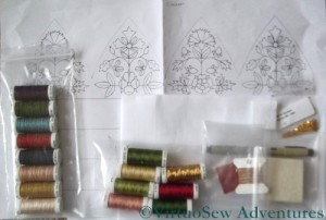 Glittering Nightcap Materials