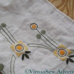 Table Runner Hemmed