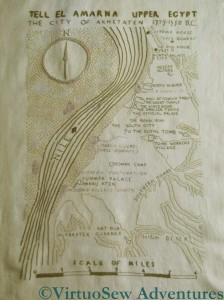 Finished Map of Amarna