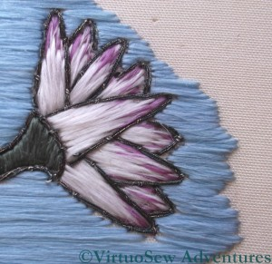 Detail of a Lotus Flower