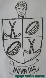 Doodled Crest