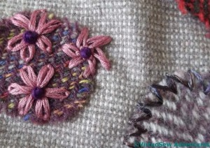 Glove Stitch And Daisies