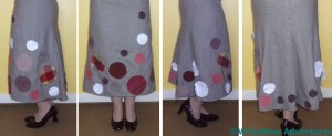 Skirt Partly Arranged