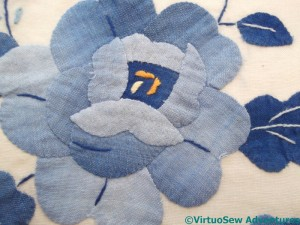 Applique Rose