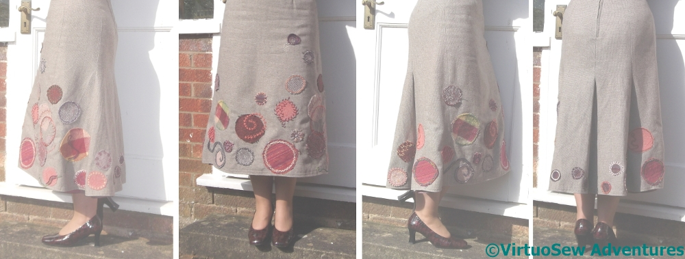 The Finished Circle Skirt - Perhaps!