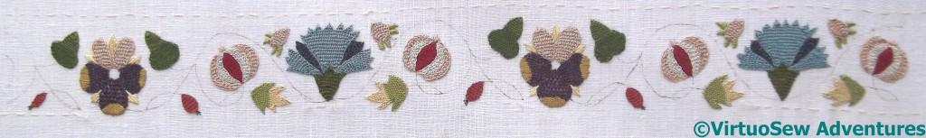 Silkwork On Brim