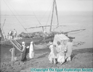 Loading The Felucca