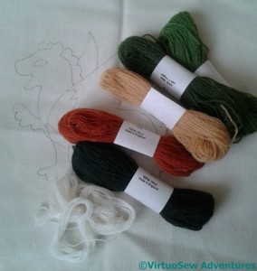 Thread For Dragon StitchALong