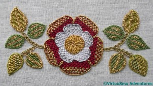 Tudor Rose Finished