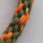 Orange and Green Cotton