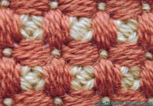 Caged Rice Stitch