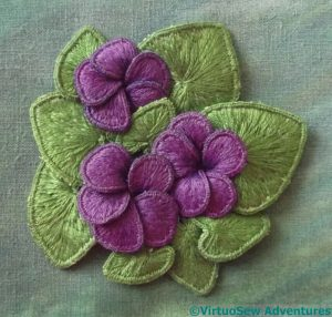Assembled Violets
