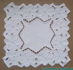 Azorean Cutwork Finished