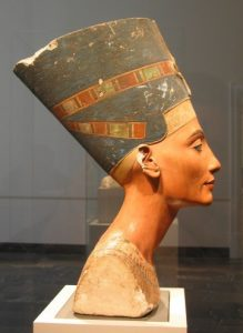 That famous bust of Nefertiti