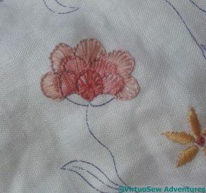 Blanket Stitch Fans