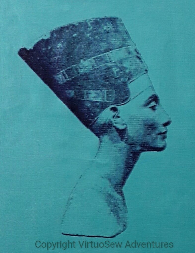 Screenprint of the Head of Nefertiti