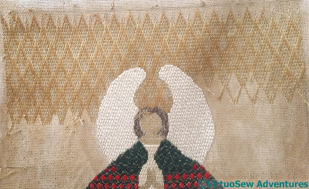 Progress on the Christmas Angel