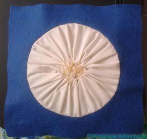 Gathering Backing Fabric