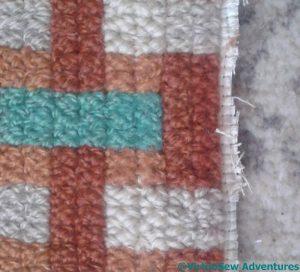 Repaired Stitching