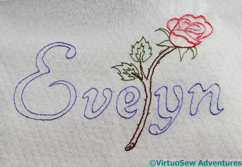 Evelyn Outlined