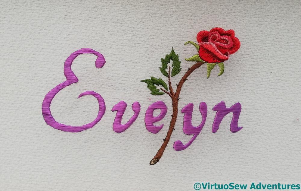 Evelyn Rose Finished