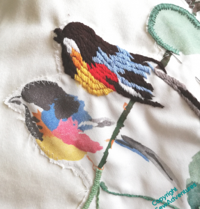 Birds in progress