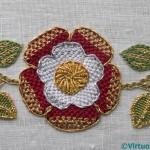 Tudor Rose Finished