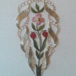 Panel stitched by Mary Martin