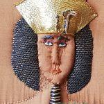Detail of Akhenaten's face